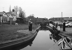 Working the locks on the Staffordshire and Worcestershire canal 1