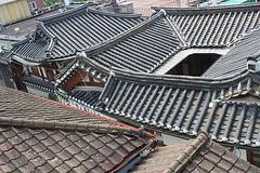 Hanok rooftops, Bukchon