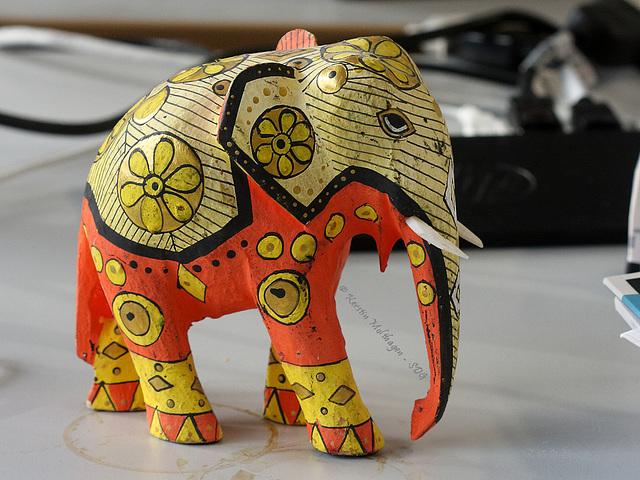 Noch ein Arbeitselefant...