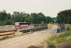 Luton and District A143 EPA leaving Barton Mills - 6 Aug 1994