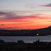 Después de la puesta de Sol en la Ría