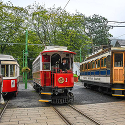 IoM - all three No.1's at Laxey