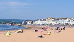 Exmouth Beach, Devon