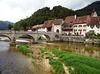 Die Brücke St-Jean in Saint-Ursanne