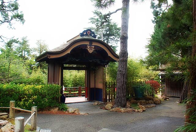 A facade ~ Japanese Tea Garden