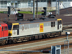 92011 at Dollands Moor - 5 October 2017