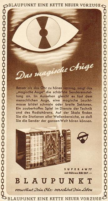 Werbung 1937