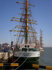 """""""Alexander von Humboldt II"""" - German tall ship (2011)."""
