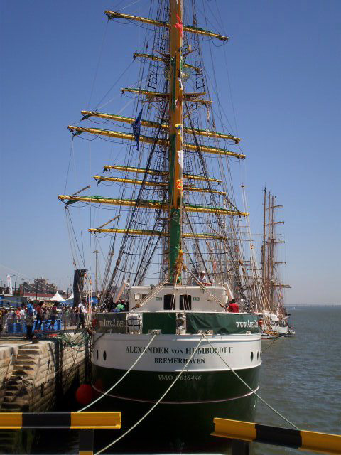 """Alexander von Humboldt II"" - German tall ship (2011)."