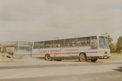 Luton and District coach in Red Lodge - 3 Sep 1988