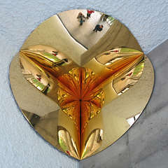 Anish Kapoor chez Le Corbusier, 2015 (Gold corner)