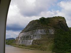 The Gaillard Cut Required Blasting Through Mountains