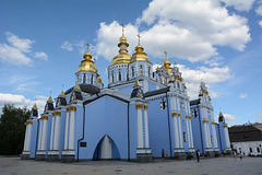 Киев, Свято-Михайловский Златоверхий Собор / Kiev, St. Michael's Golden Domed Cathedral