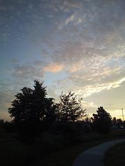 Un sentier se réveille...... /  Pathway to dreamy sky ....
