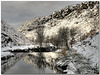 Visions of Park Bridge: The Weir reflections in Winter