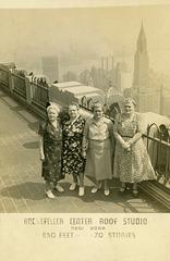 Women at the Rockefeller Center Roof Studio, New York City, June 4, 1952