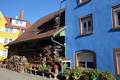 Farbenfrohe Altstadt in Schopfheim