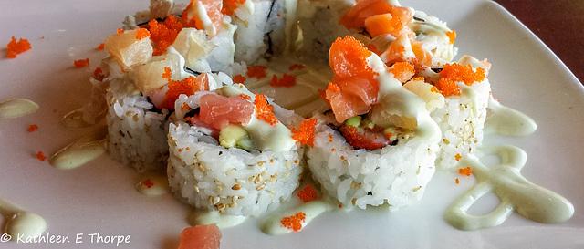 Epcot sushi 030616