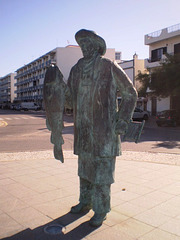 Monument to Cod Fisherman.