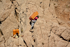 Kurdish smugglers...Iran/Iraq border (PiP)