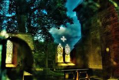 Look Inside. Reflect Outside. Chapel. Cemetery