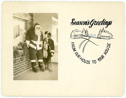 Season's Greetings, 1949—From Our House to Your House