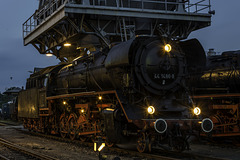 44 1486-8 wird am Kohlehochbunker präsentiert