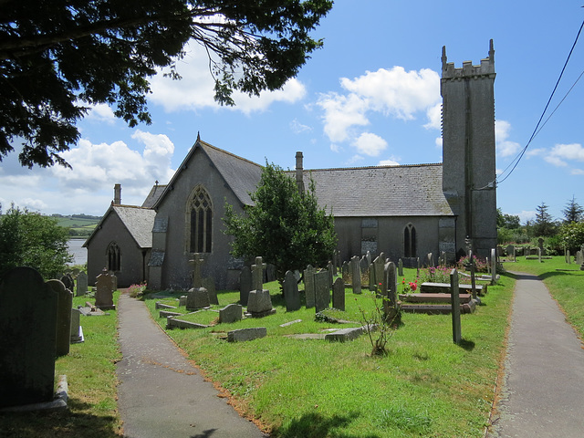 bere ferrers church, devon