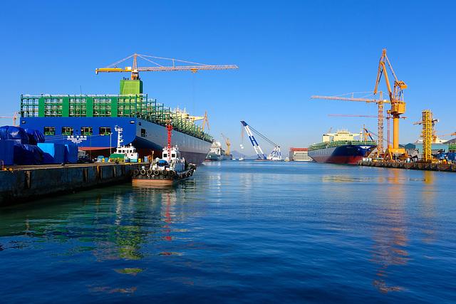 DSME ship yard