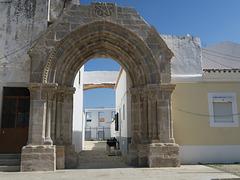 Portail gothique du Couvent de Graça, XIIIe siècle, Loulé (Portugal)