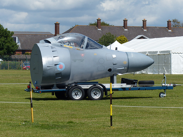 Sea Harrier Nose - 15 June 2015