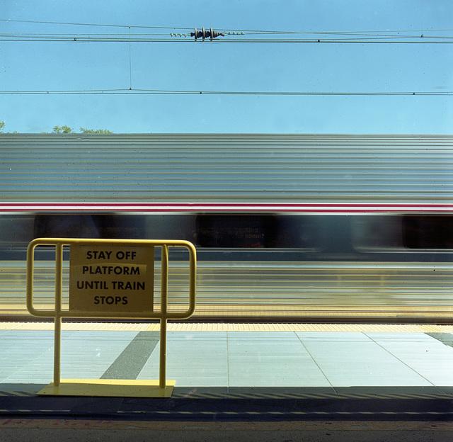 stay off platform