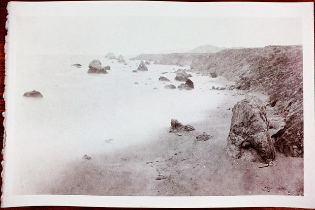 Carlevaro Beach Salt Print