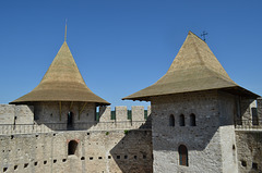 Moldova, Soroca Fortress, Walls and Towers from Inside