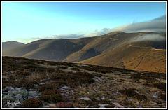 Montañas desnudas (Alto de Dos Hermanas-La Polvorosa)