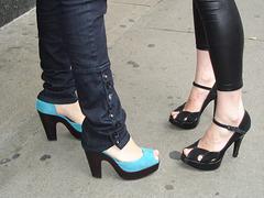 Buffalo heels Ladies / Le duo talons hauts Buffalo - Recadrage