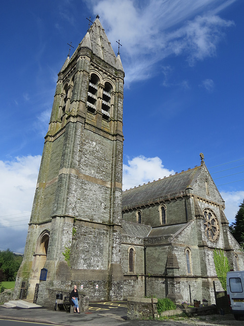 st mary magdalene church, tavistock, devon