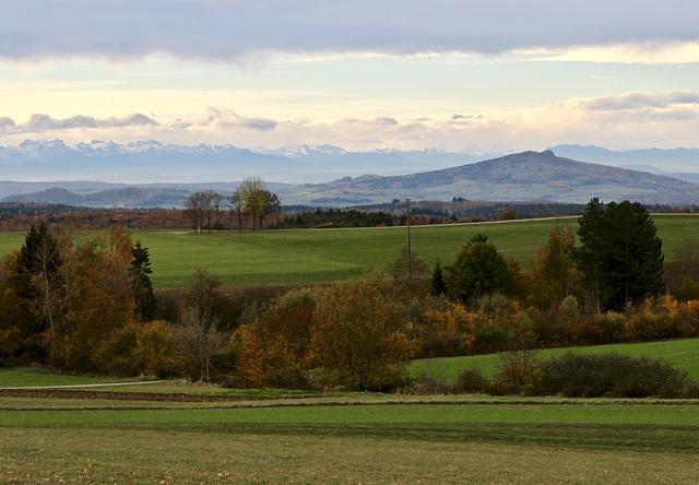 Blick über das Donaubergland