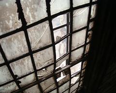DSCF3299 Part of an old lead beaded window