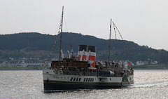 "P.S. ""Waverley"" arrives at Kyle"