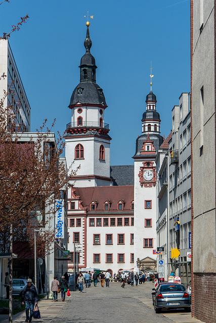 Blick zum alten Rathaus