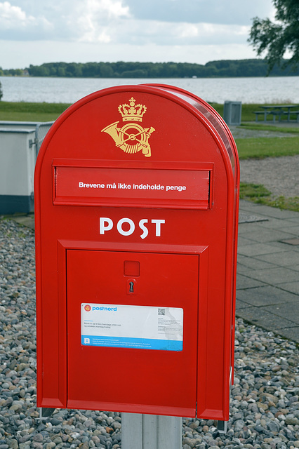Dänischer Briefkasten
