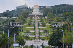 Haifa, Bahá'í Shrine and Gardens