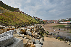 Tate Hill beach, Whitby harbour