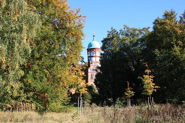 Wiligrad, Schlossturm