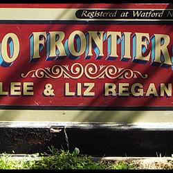 No Frontiers narrowboat