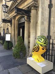 Owl at the Pump Room, Bath