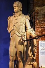Statue of Admiral Horatio Nelson – Centre d'histoire de Montréal, Place d'Youville, Montréal, Québec, Canada