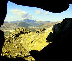 Iberian Peninsula rock window!