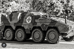 Armoured transport vehicle Boxer
